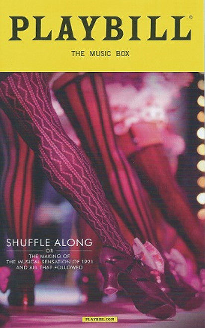 Shuffle Along Audra McDonald, Brian Stokes Mitchell, Billy Porter, Brandon Victor Dixon Playbill / Program March  2016