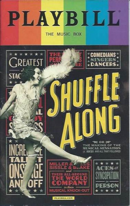 Shuffle Along, Audra McDonald, Brian Stokes Mitchell, Billy Porter, Playbill / Program June  2016, Pride Edition, Pride Playbills 2016, Shuffle Along Programs