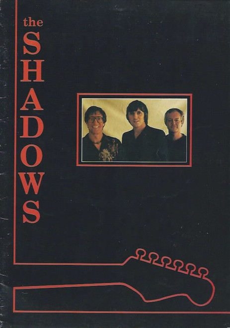 The Shadows (Musical / Concert ) Marissa Burgress, Brett Mills, Souvenir Program 1984 World Tour (Australia)