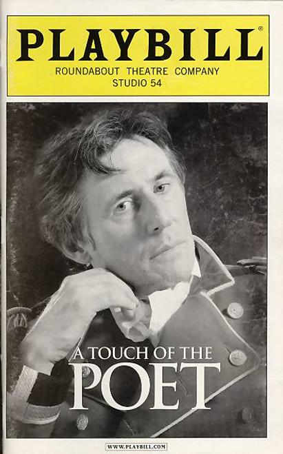 A Touch of the Poet (Play), Gabriel Byrne, Dearbhla Molloy, Emily Bergl, John Horton, Byron Jennings, Kathryn Meisle, Studio 54