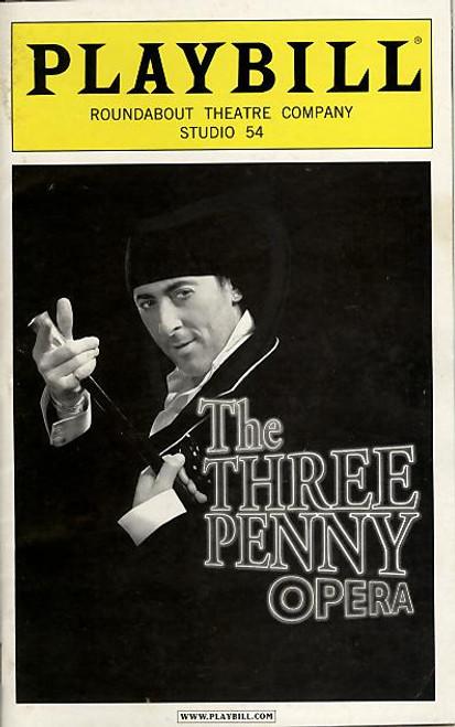 The Three Penny Opera (Musical),  Alan Cumming, Jim Dale, Ana Gasteyer, Cyndi Lauper, Nellie Mckay, Studio 54, Broadway Playbills