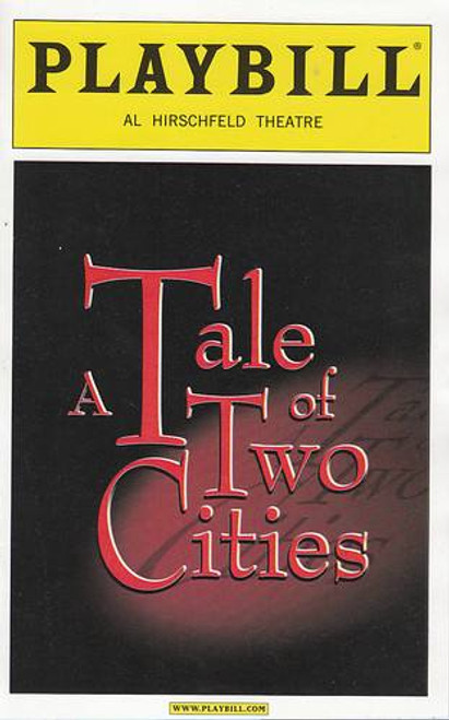 Tale of Two Cities, Musical, James Barbour, Craig Bennett, Brandi Burkhardt, Kevin Earley,  Al Hirschfeld Theatre