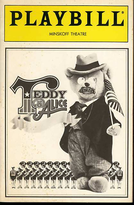 Teddy and Alice (Musical), Len Cariou, Ron Raines, Beth Fowler, Nancy Hume, Michael McCarty - 1988 Minskoff Theatre Broadway
