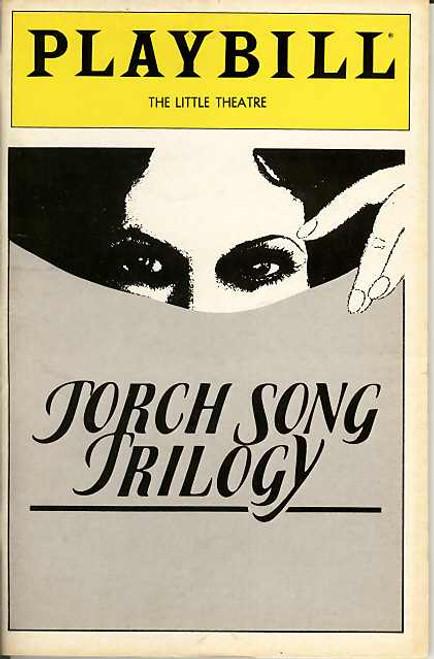 Torch Song Trilogy (Play), Harvey Fierstein, Court Miller, Estelle Getty, Paul Joynt, Fisher Stevens, Diane Tarleton, Susan Edwards,  Jun 1982 The Little Theatre Broadway, Torch Song Playbill
