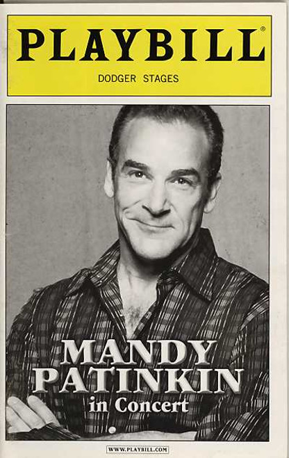 Mandy Sings In 2004, he played a six–week engagement of his one–man concert at the Off Broadway complex Dodger Stages.