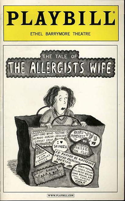 The Tale of the Allergists Wife (Play), Lind Lavin, Michele Lee, Tony Roberts - Feb 2001 Broadway production