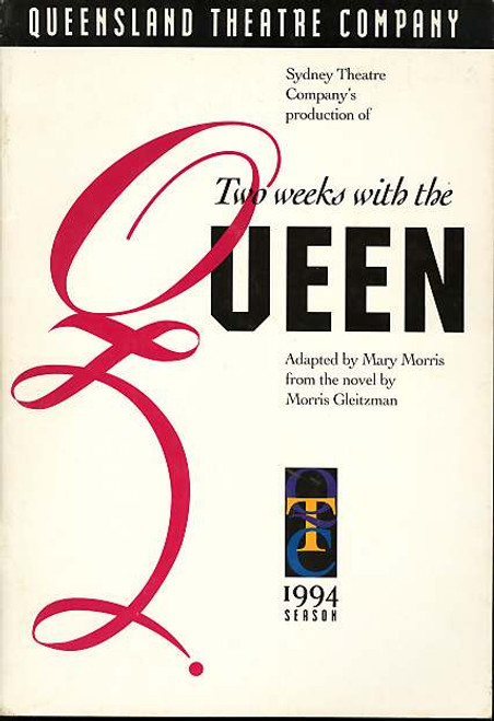 Two Weeks with the Queen (Play), Damon Herriman, Arky Michael, Denise Kirby, Andrew MacFarlane - 1994 Australian Production