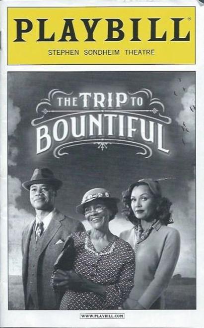 Trip to Bountiful (Play),   Cicely Tyson, Cuba Gooding Jr., Condola Rashād, Vanessa Williams,Tom Wopat, Playbill/ Program Date May 2013