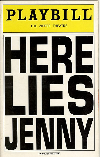Here Lies Jenny, that featured songs by Kurt Weill, sung and danced by Neuwirth and a four-person supporting cast, as part of an unspoken ambiguous story in an anonymous seedy bar possibly in Berlin in the 1930s.