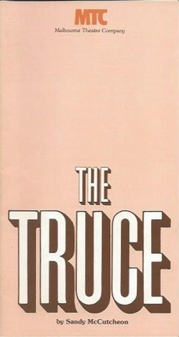 The Truce, by Sandy McCutcheon, Gabrielle Hartley, Rona McLeod, Kristopher Steele, The Truce Playbill Program