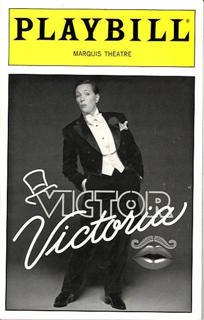 Victor Victoria (Musical), Julie Andrews, Tony Roberts, Michael Nouri, Rachel York - Marquis Theatre (Oct 1996),  Michael Nouri, Rachel York, R ichard B Shull, Adam Heller, Michael Cripe