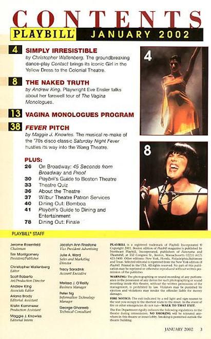 Boston monologue vagina