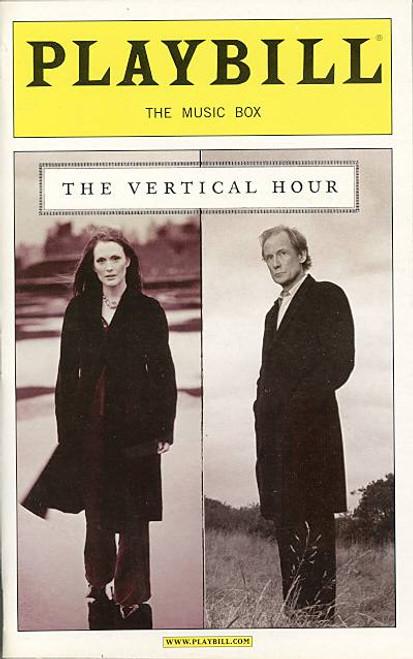 The Vertical Hour (Play),  Julianne Moore, Bill Nighy, Andrew Scott, Dan Bittner Music Box Theatre (Nov 2006)