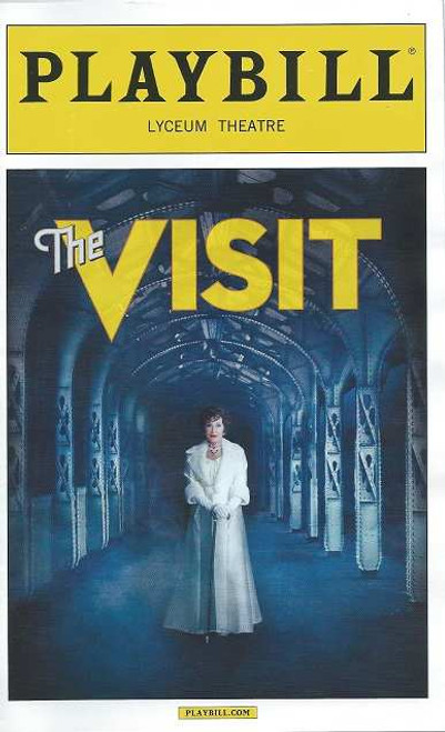 The Visit by Terrence McNally 2015 Season, Playbill Preview Opening Night 23 April 2015, Chita Rivera, Roger Rees, Jason Danieley, David Garrison, Mary Beth Peil, George Abud, Matthew Deming, Dianna Dimarzio, Rick Holms, Tom Nelis, Chris Newcomer, Aaron Ramey, John Riddle, Elena Shaddow, Timothy Shew, Michelle Veintimilla, Matt Dengler, Ken Krugman, Emily Mechler