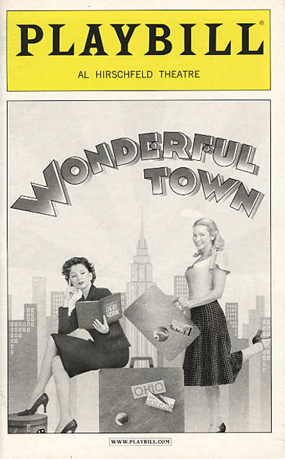 Wonderful Town (Musical), Donna Murphy, Jennifer Westfeldt, Gregg Edelman, David Margulies, Al Hirschfeld Theatre (Jan 2004)