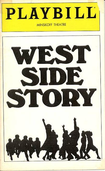 West Side Story (Musical), Debbie Allen, Jossie DeGuzman, Ken Marshall, Hector, Jaime Mercado - Minskoff Theatre (Apr 1980), James J Mellon, Sammy Smith, Ray Contreras, Jake Turner, Arch Johnson