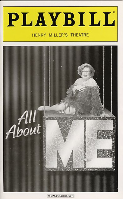 "All About Me: Dame Edna collaborated with cabaret pianist and singer, Michael Feinstein for a two-person revue entitled ""All About Me"""
