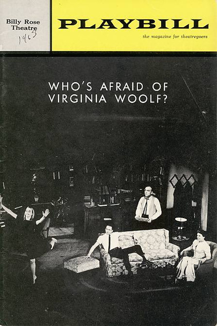 Who's Afraid of Virginia Woolf ? (Play), Mercedes McCambridge, Donald Davis, Ben Piazza, Billy Rose Theatre (Feb 1964), Rochelle Oliver