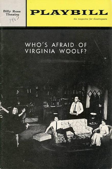 Who's Afraid of Virginia Woolf ? (Play), Mercedes McCambridge, Donald Davis, Ben Piazza, Billy Rose Theatre (Feb 1964), Rochelle Oliver
