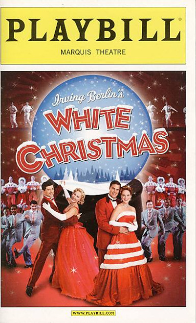 White Christmas (Musical), James Clow, Melissa Errico, Tony Yazbeck, Mara Davi,  Marquis Theatre (Dec 2009)