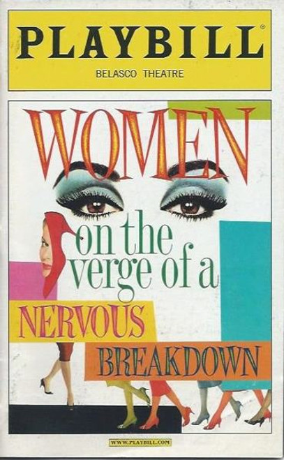 Women on the Verge of a Nervous Breakdown, (Musical) Patti LuPone, Danny Burstein, Laura Benanti - Belasco Theatre (Nov 2010)