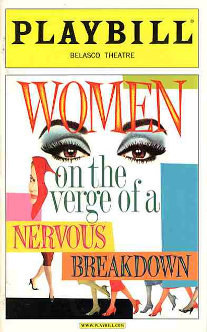 Women on the Verge of a Nervous Breakdown (Musical) Patti LuPone, Danny Burstein, Laura Benanti - Belasco Theatre (Dec 2010)
