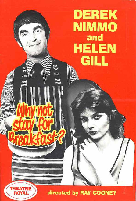 Why Not Stay for Breakfast (Play), Derek Nimmo, Helen Gill, Lachlan MacDonald, Lee Parker - 1976 Australian Production Tour