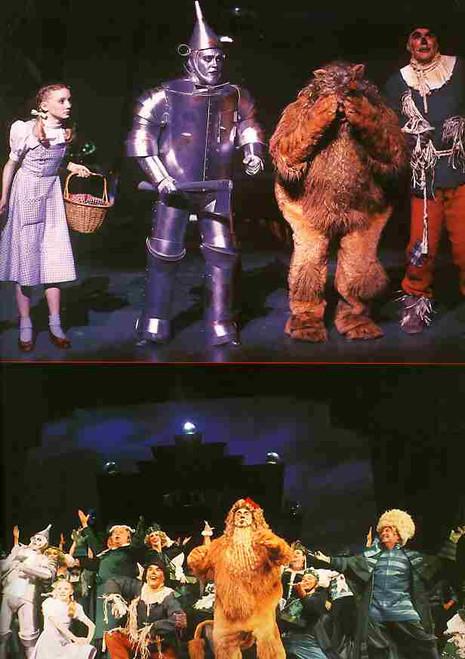 The Wizard of OZ (Musical), Bert Newton, Philip Gould, Patti Newton , Doug Parkinson - 2001 Australian Production Melbourne