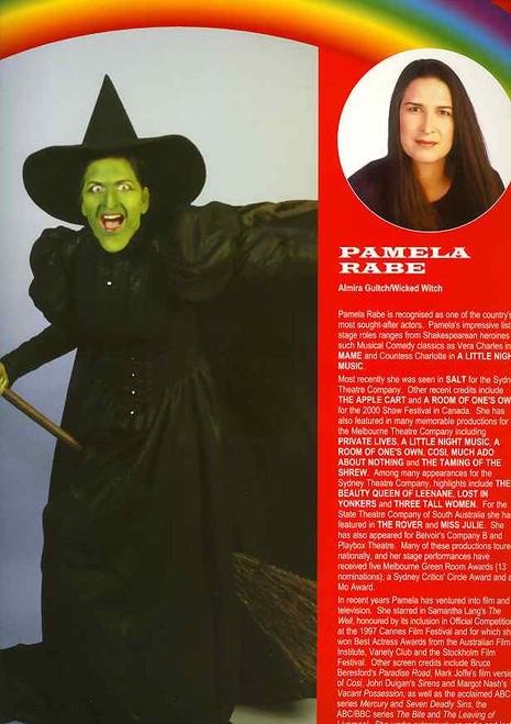 The Wizard of OZ (Musical), Bert Newton, Philip Gould, Delia Hannah, Doug Parkinson - 2001 Australian Production
