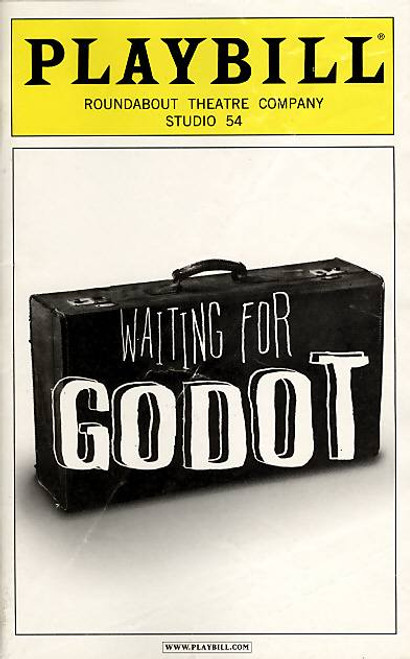 Waiting for Godot  (pronounced /ˈɡɒdoʊ/, GAH-doh) is an absurdist play by Samuel Beckett, in which two characters, Vladimir and Estragon