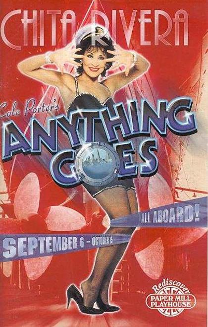 Anything Goes (Musical)  Chita Rivera, Bruce Adler, Patrick Quinn, Tara Radcliffe - Paper Mill Playhouse USA