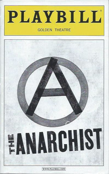The Anarchist, Debra Winger, Patti LuPone, playbill, broadway 2012 season
