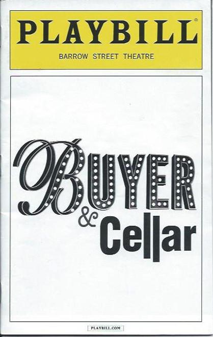 Buyer & Cellar (Play), Michael Urie, Stephen Brackett, Jonathan Tolins Barrow Street Theatre, Playbill Oct 2013