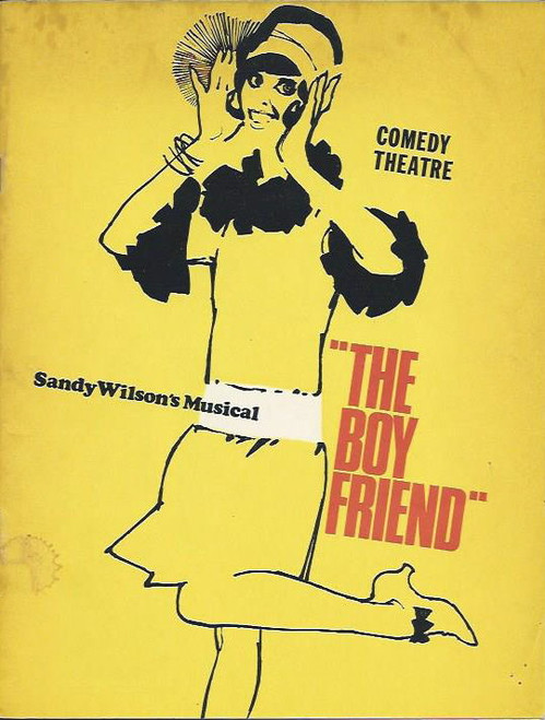 The Boy Friend (Musical), Deidre Rubenstein, Laurel Veitch, Julie Day, Gloria Scott, Rosalie Howard, Kathy Read, Rod Anderson, Graeme Coombs, Michael Staniforth, Susan Swinford, John Paramor, Ric Hutton, Doug Kingsman, Frank Lloyd, Queenie Ashton, Graeme Watson, Brian Barrie, Wayne Godfrey, Pauline Garrick, Cheryl Ridley, Robina Beard,  Australian Production, Melbourne Season 1969 at the Comedy Theatre