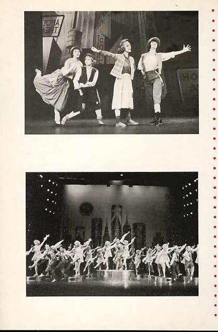 42nd Street (Musical), Maurice Lane, Art Day, Brent Verdon, Carol Ball, Gaye Brown, Catherine Zeta-Jones - 1987 London Production