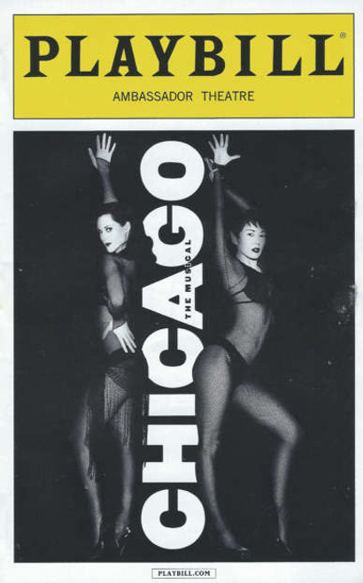 Chicago (Sept 2014) Bianca Marroquin - Amra-Faye Wright, Bianca Marroquin, Amra-Faye Wright, Christopher Fitzgerald, Paul C Vogt, Carol Woods, R Lowe, broadway 2014 Playbill, Chicago Playbills