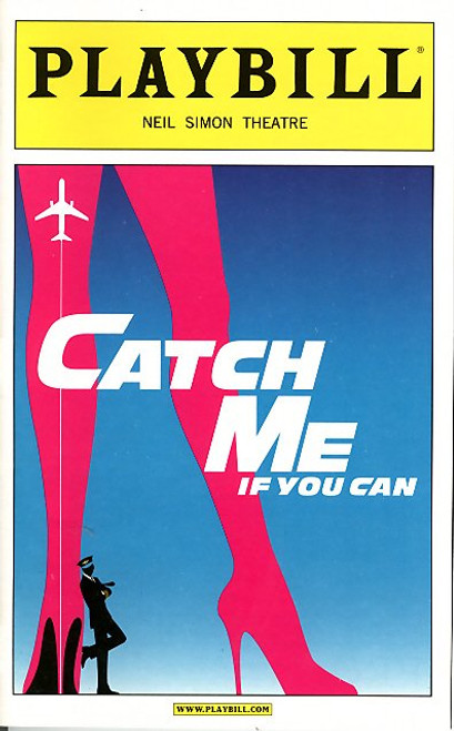 Catch Me If You Can (Mar 2011) Aaron Tveit - Neil Simon Theatre, Aaron Tveit, Norbert Leo Butz, Rachel de Benedet, Linda Hart, Nick Wyman - Neil Simon Theatre