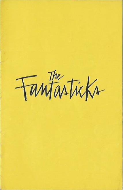 The Fantasticks (Play) Ernest Parham, Jon Finlayson, Alan Hopgood, Union Theatre  Melbourne 1962  Playbill, Program, Ernest Parham, Jon Finlayson, Alan Hopgood, Jon Dennis, Judith Arthy, Robert Hornery, Alan Tobin, Leon Lissek