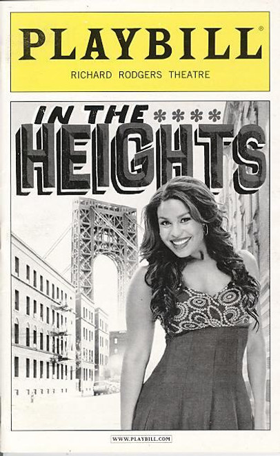 In The Heights (Musical), Jordin Sparks, Kyle Beltran, Andrea Burns, Marcy Harriell, Priscilla Lopez, 2010 Richard Rodgers Theatre