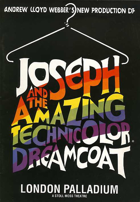 Joseph and the Amazing Technicolor Dreamcoat (Musical), Phillip Schofield, Linzi Hateley - 1993 Revival London Production
