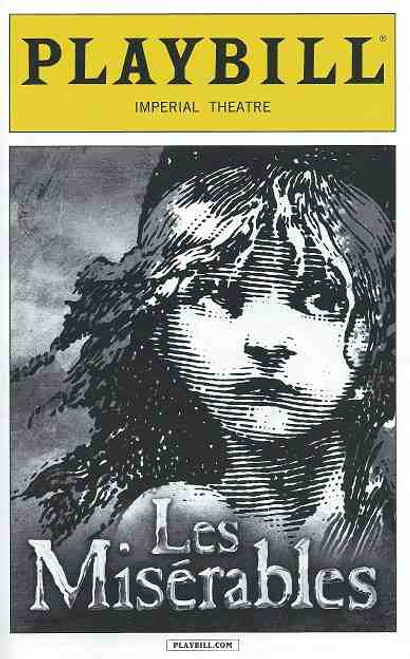 Les Miserables (Musical) Playbill April 2015 Ramin Karimloo, Will Swenson, Tyler Murree, Alan Shaw, Sam Chuck, Athan Sporer, Christianne Tisdale, Richard Barth, Adam Monley