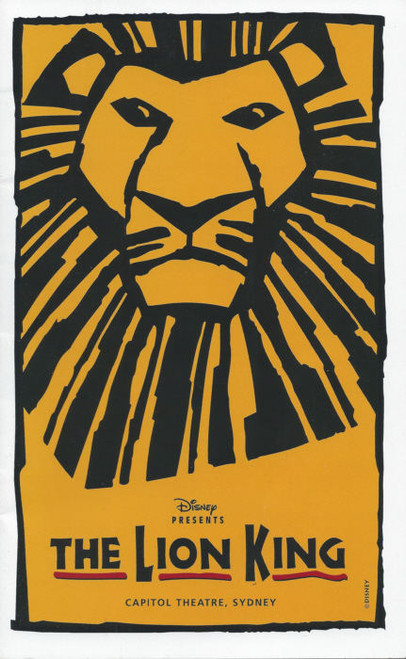 The Lion King (Musical)  Jay Laga'aia, Tony Harvey, Buyisile Zama, Terry Bader - Australian Tour Production  Sydney 2003