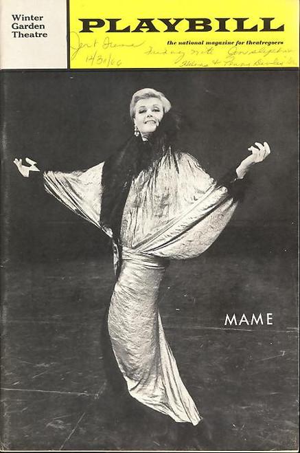 Mame (Musical), Angela Lansbury, Beatrice Arthur, Jane Connell, Willard Waterman - Broadway  1966 Directed by Gene Saks