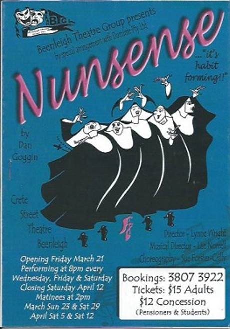 Nunsense (Musical), Jo Castle, Trish Willing, Janice Hancock, 2010 Beenleigh Theatre Group - Australia