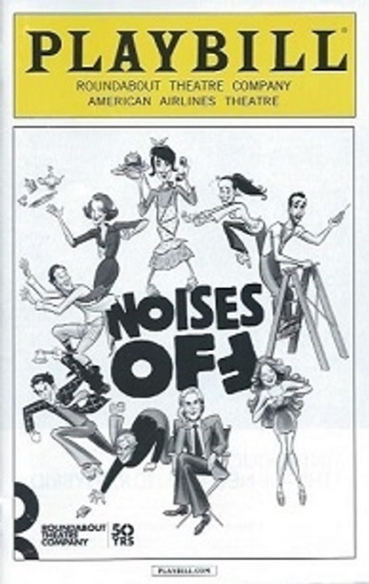Noises Off (Jan 2016), Andrea Martin, Campbell Scott, Tracee Chimo, American Airlines Theatre