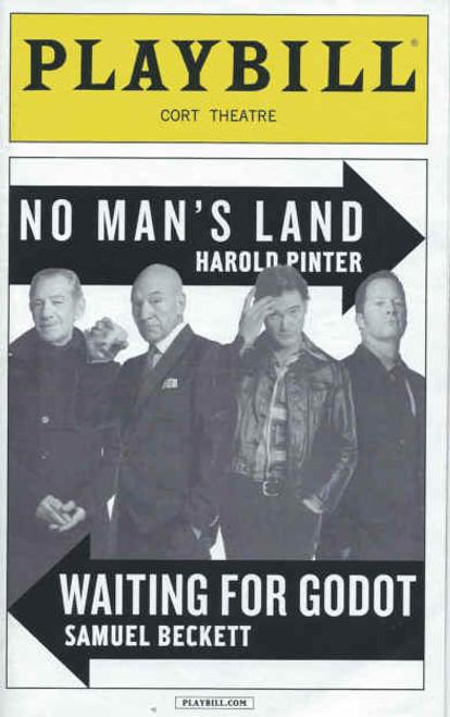 No Mans Land & Waiting for Godot  March 2014, Billy Crudup, Shuler Hensley, Ian McKellen, Patrick Stewart