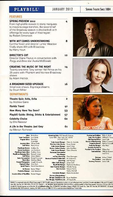 The Phantom of the Opera (Musical), Hugh Panaro, Trista Moldovan - 25th Year Anniversary on the  Jan 26 2012 Broadway