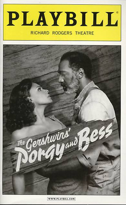 Porgy and Bess (Musical)  Audra McDonald, Norm Lewis, David Alan Grier -  Jan 2012 Broadway