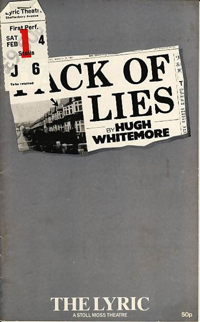 Pack of Lies (Play), Judi Dench - Michael Williams -  1983 London West End Production,  Eva Griffith, Barbara Leigh-Hunt, Larry Hoodekoff, Richard Veron, Elizabeth Bell, Penny Ryder