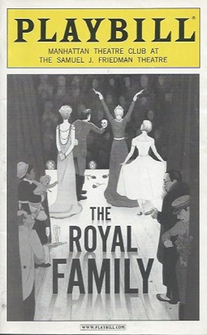 The Royal Family (Play), Rosemary Harris, Eva LeGallienne, Ellis Rabb, Sam Levene, Helen Hayes Theatre